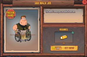 Sidewalk Joe Stockpile Tanker