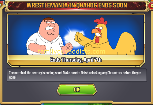 WrestleMania Ends Soon