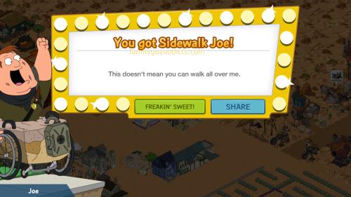 You Got Sidewalk Joe