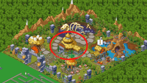Peter's Prehistoric Park Event Area