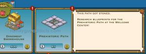 Prehistoric Path Cost