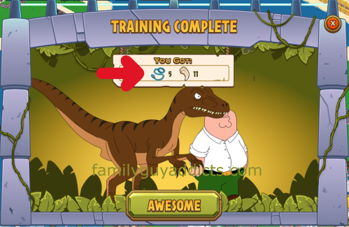 Raptor Training Payout 2
