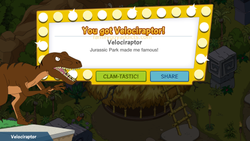 You Got Velociraptor