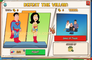 Gang of Thug Battle Selection Superman & Wonder Woman