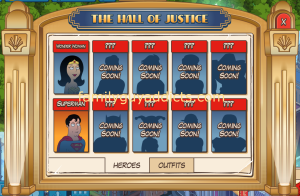 Hall of Justice Heroes
