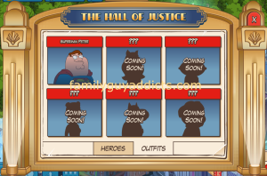 Hall of Justice Outfits
