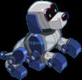 Pixel The Cute Robot Pup