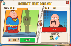 Thug Battle Peter Select Screen