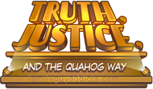 Truth Justice and the Quahog Way Logo