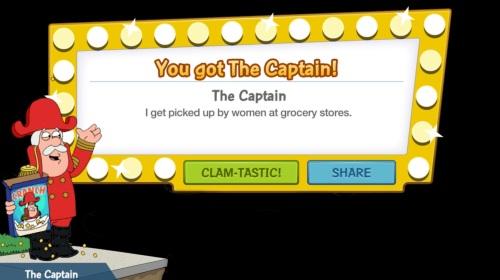 The Captain Unlock