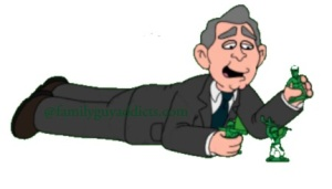 Where The Hell George W Bush Family Guy Addicts