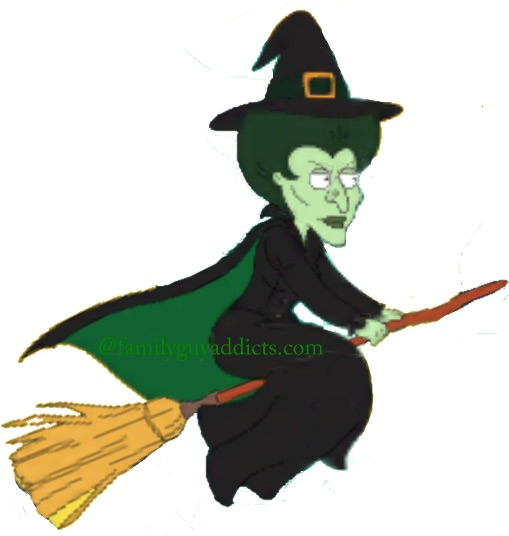 wicked witch family guy addicts rh familyguyaddicts com Evil Witch Clip Art Melting Wicked Witch of the West