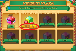 present-plaza-screen-qberts-glowing-gift