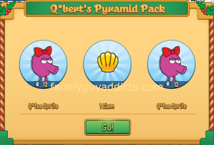 qbert-pyramid-pack-clam-sprite-rewards
