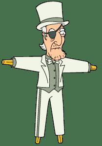 White Suit Seamus